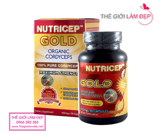 Đông trùng hạ thảo Nutricep Gold mẫu mới 2020-1