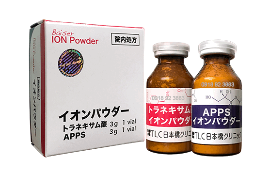 Bai set ION Powder C+ 01Bai set ION Powder C+ 01