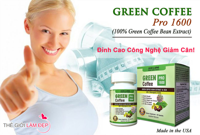 Banner Green Coffee Pro 1600 mg-1