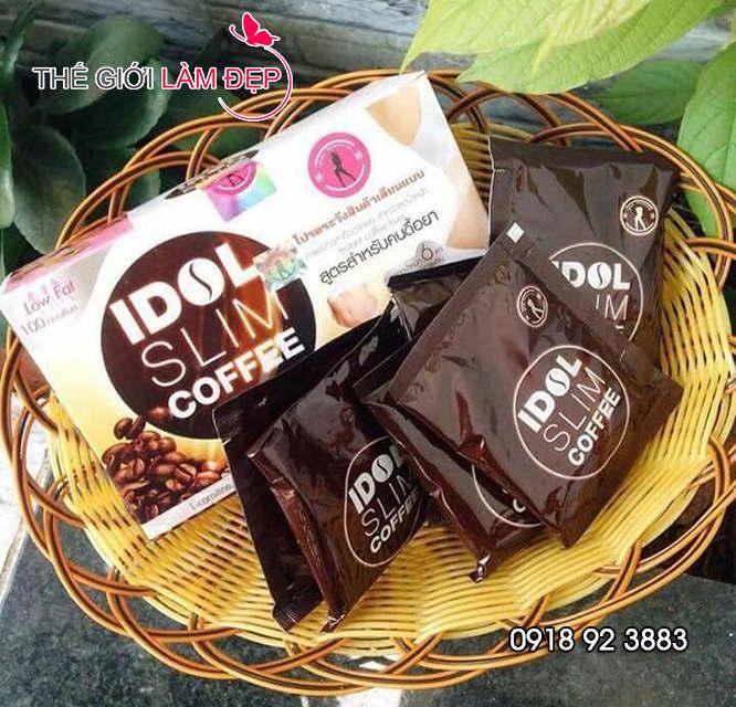 Cà phê giảm cân Idol Slim Coffee 4