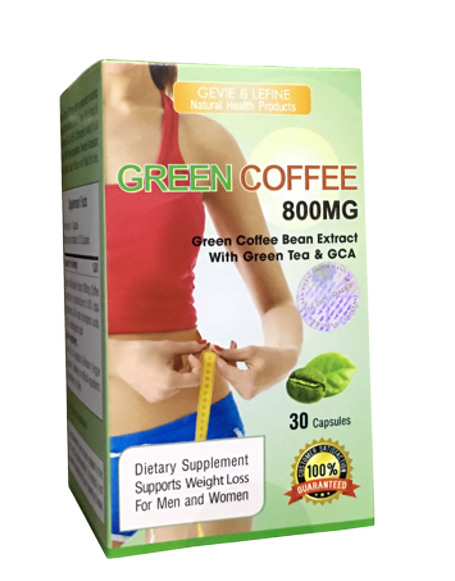 Cach phan biet Green Coffee Bean Extract 800mg chinh hang 02