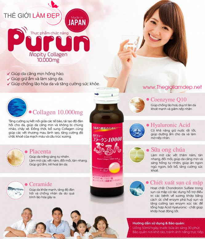 Collagen Purun Mopity Collagen 10000mg -4