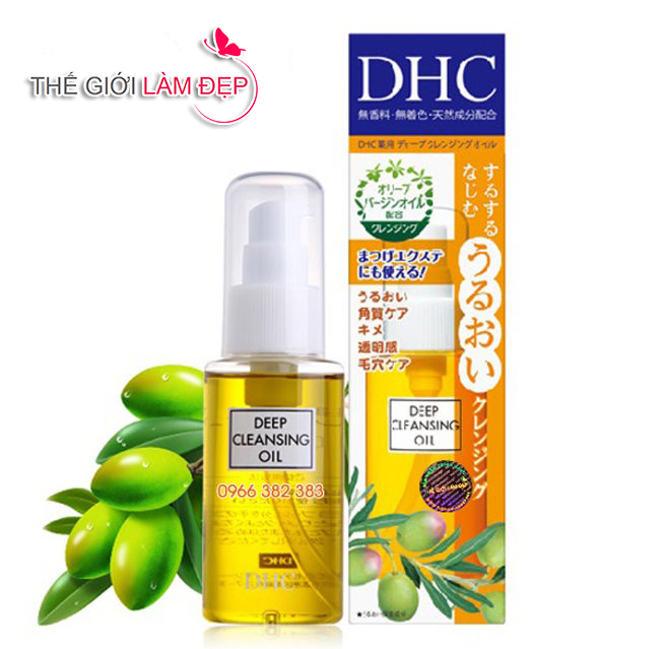 Dầu tẩy trang DHC Deep Cleansing Oil 1