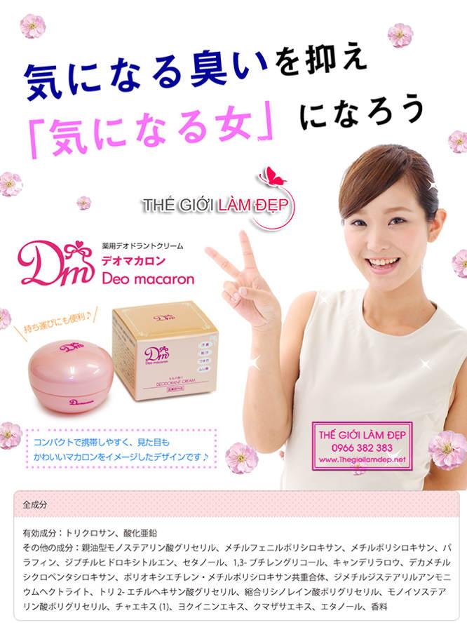 DM Deo macaron Nhật Bản 12