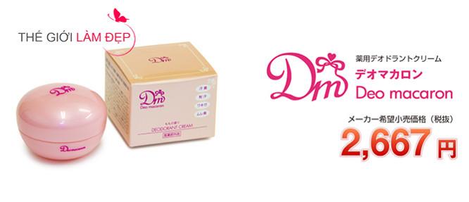 DM Deo macaron Nhật Bản 5