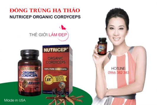 Dong trung ha thao Nutricep Organic Cordyceps 1-1
