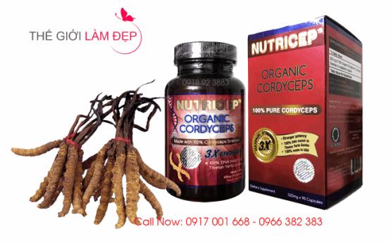 Dong trung ha thao Nutricep Organic Cordyceps 2-1
