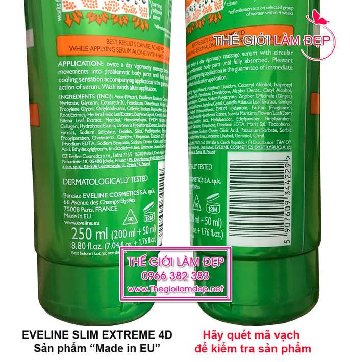 Eveline Slim Extreme 4D mau moi 2018 -2-1
