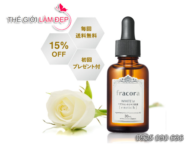 Fracora White'st Placenta Extract Enrich 4