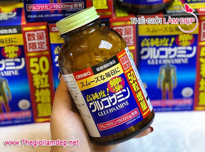 Glucosamin Orihiro 1500mg 900 viên