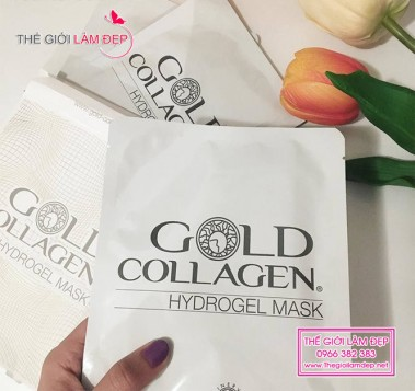 Gold Collagel Hydrogel Mask 1
