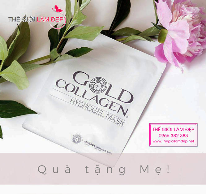 Gold Collagel Hydrogel Mask 2