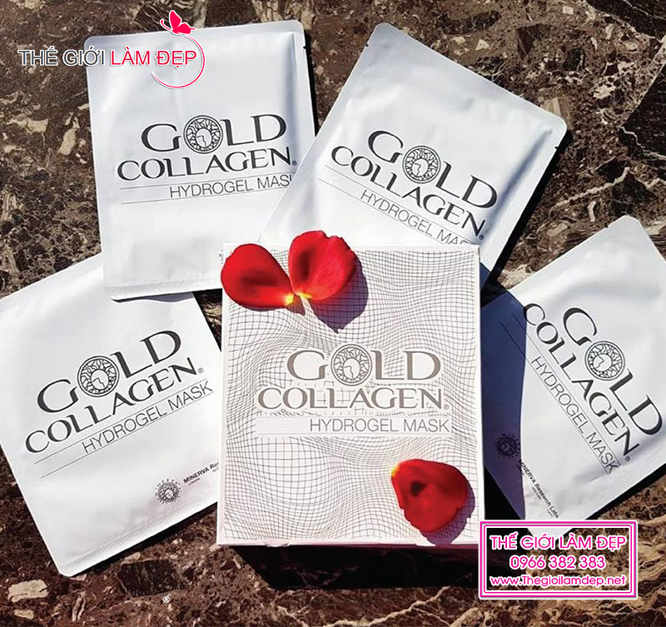 Gold Collagel Hydrogel Mask 5