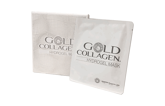 Gold Collagel Hydrogel Mask