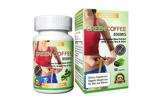 Green Coffee 800mg - Green Coffee Bean Extract