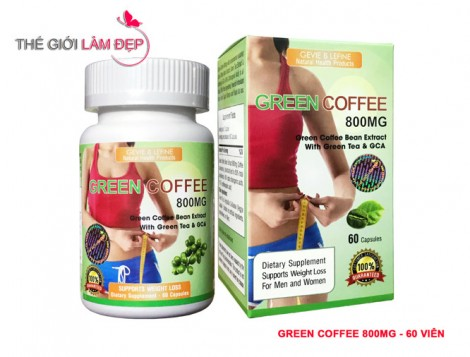 Green Coffee Bean Extract 800mg - 60 vien-2