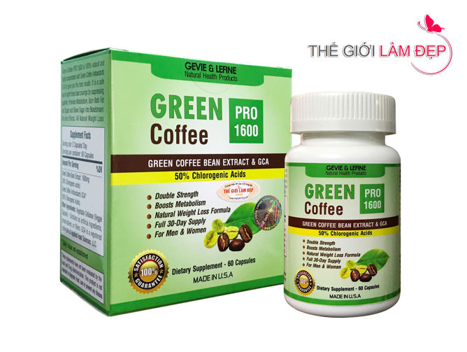 Green Coffee Pro 1600 - 105