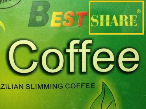 Cà phê giảm cân Green Coffee Best SHARE thật