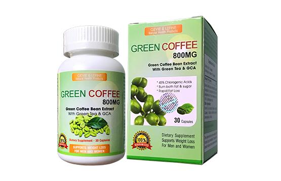 Green Coffee hộp 30 viên loại 800 mg