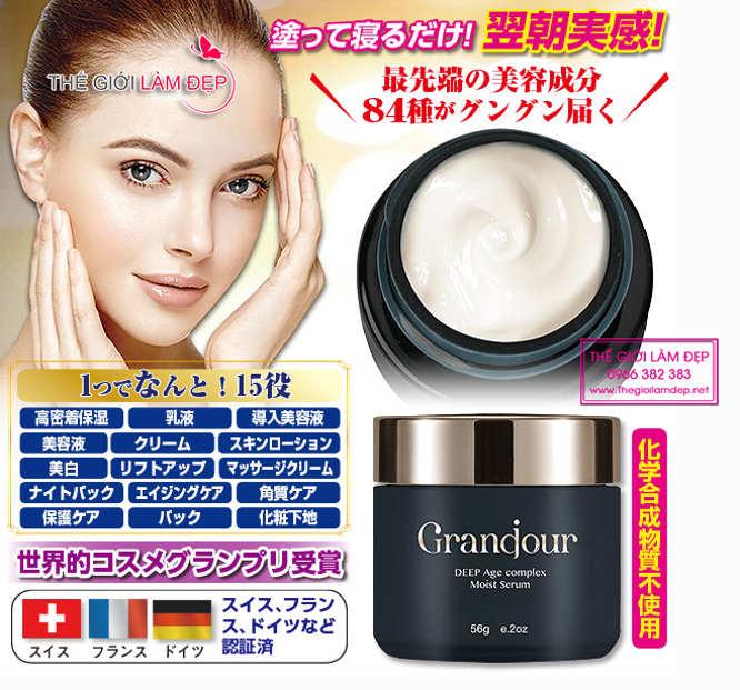 Kem chống lão hóa Grandour (Grandjour) Nhật Bản 3