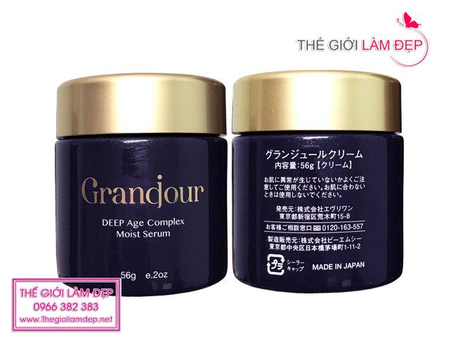Kem chống lão hóa Grandour (Grandjour) Nhật Bản 6
