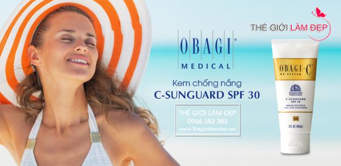 Kem chống nắng Obagi C Rx C-Sunguard Spf 30 _1