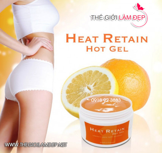 Kem giảm béo Heat Retain Hot gel 6