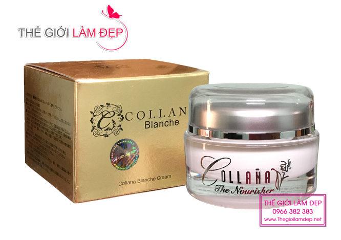 Kem trắng da trị nám Collana Blanche Cream 06