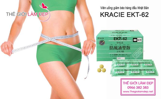 Kracie EKT-62 _Thuốc giảm cân Kraice EKT-62 Nhật Bản 02