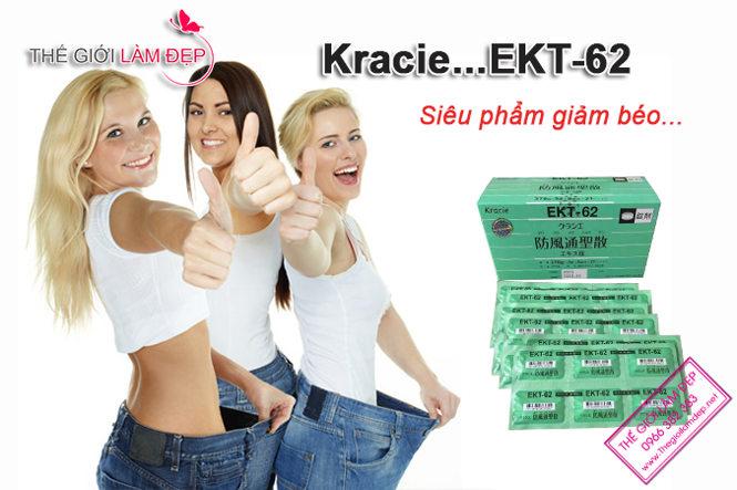 Kracie EKT-62 _Thuốc giảm cân Kraice EKT-62 Nhật Bản 03