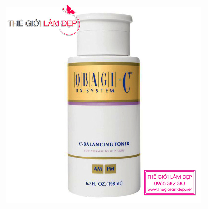 Nước hoa hồng Obagi-C Rx System C-Balancing Toner 1