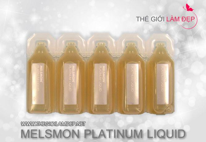 Nước uống nhau thai ngựa Melsmon Platinum Liquid 2