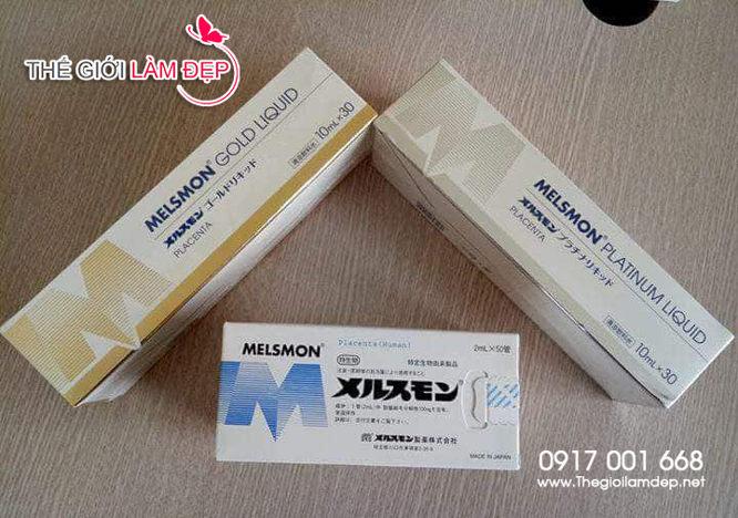 Nước uống nhau thai ngựa Melsmon Platinum Liquid 3