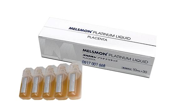 Nước uống nhau thai ngựa Melsmon Platinum Liquid Nhật Bản