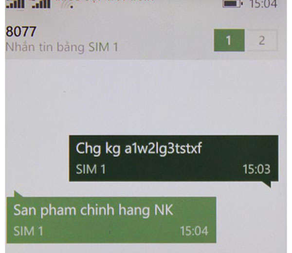 Phan biet thuoc giam can new perfect that gia 2