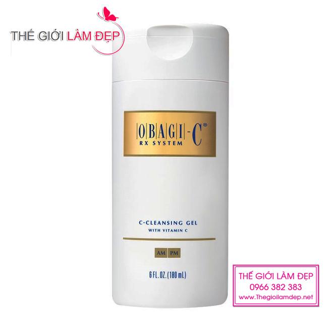 Sữa rửa mặt Obagi-C Rx System C-Cleaning gel 1
