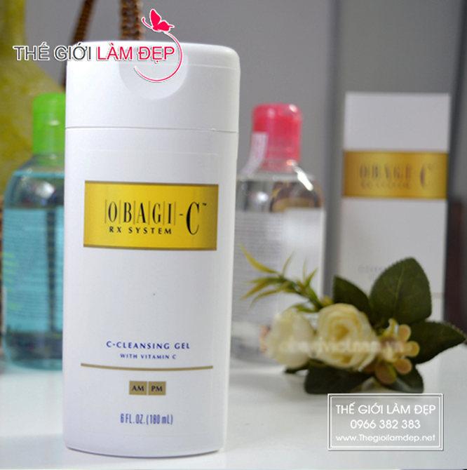 Sữa rửa mặt Obagi-C Rx system 1-2