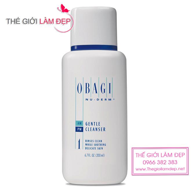 Sữa rửa mặt Obagi Nuderm Gentle Cleanser 1