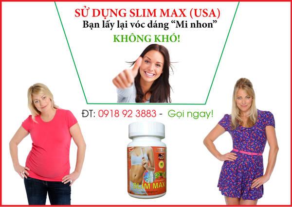 Slim Max - Thuoc giam can Slim Max 8