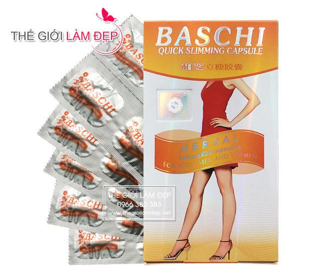 Thuốc giảm cân Baschi Thái Lan 3