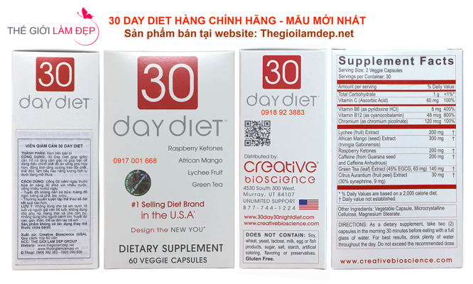 Thuoc giam can 30 Day Diet chinh hang 112