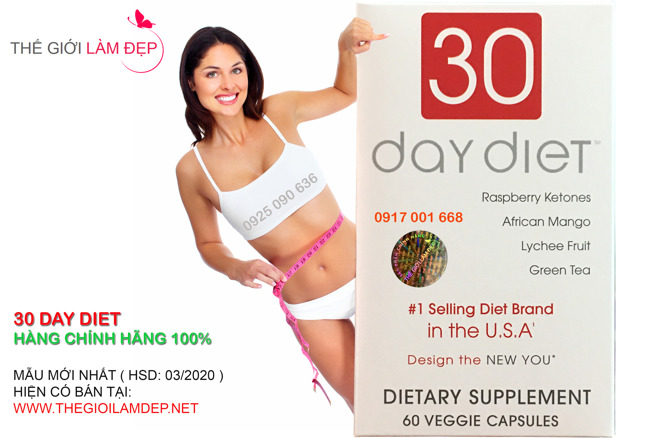 Thuoc giam can 30 Day Diet chinh hang 116