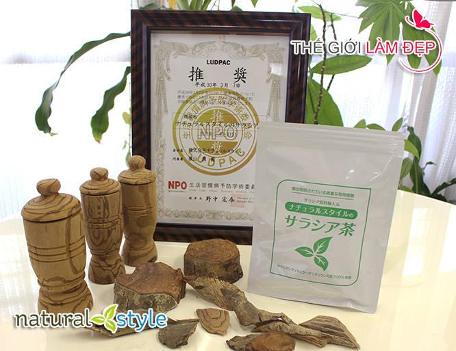 Trà tiểu đường Salacia Nhật Bản 2