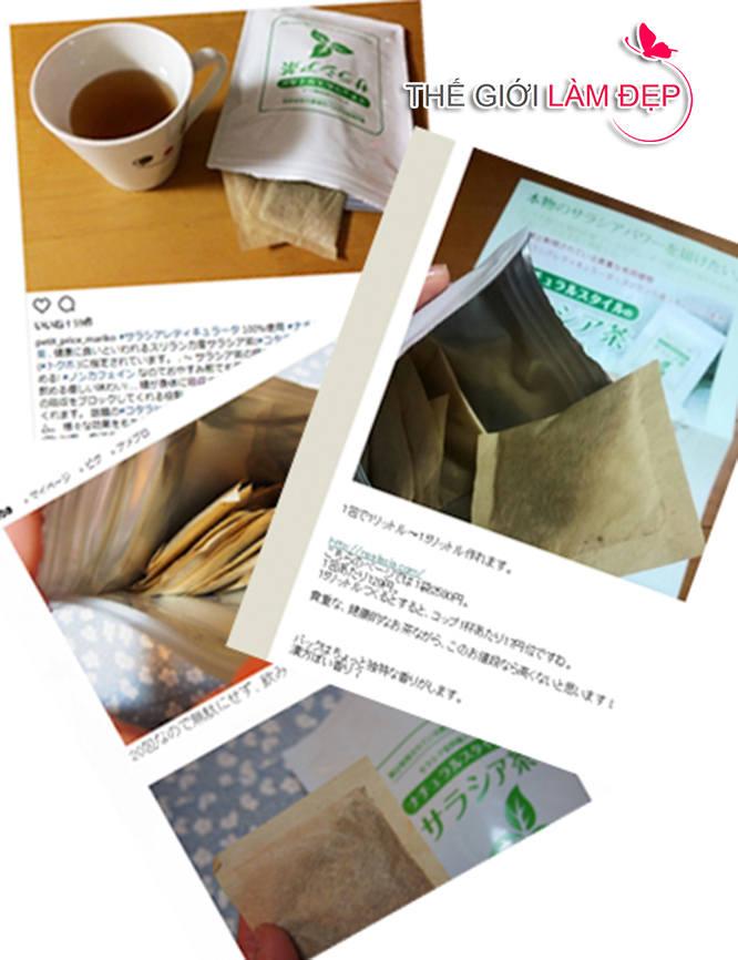 Trà tiểu đường Salacia Nhật Bản 3