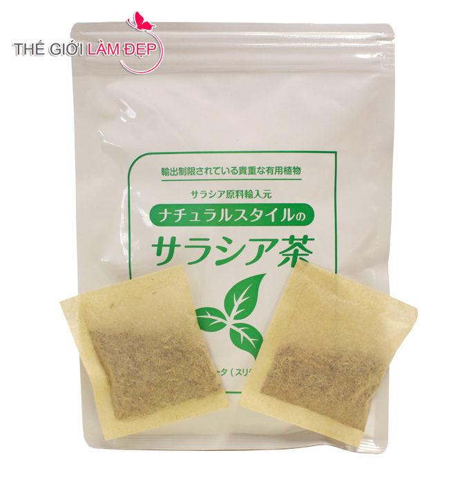 Trà tiểu đường Salacia Nhật Bản 4
