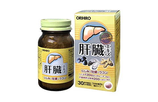 Viên bổ gan, thải độc gan Orihiro Nhật Bản (hộp 60 viên)-9