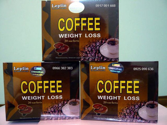ca phe linh chi coffee weight loss