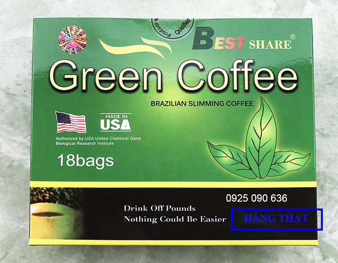 phan biet green coffee that va gia 106
